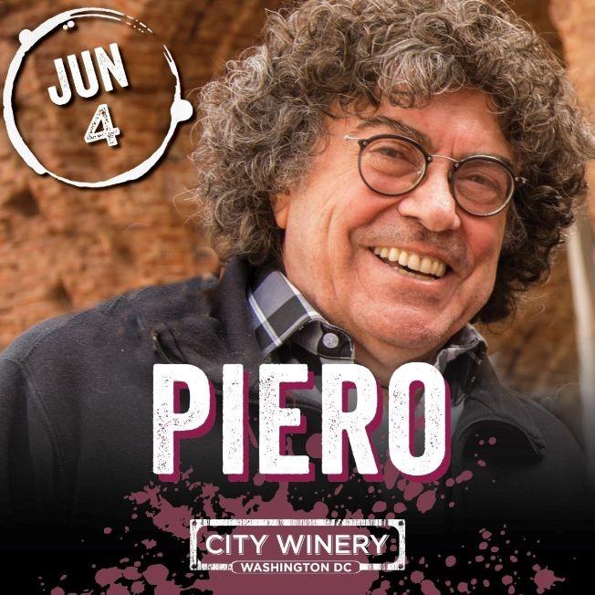 Flyer for Piero en Concierto