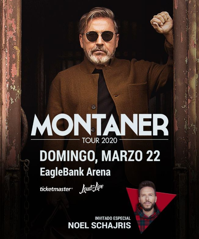 Flyer for Ricardo Montaner en Concierto! POSTPONED