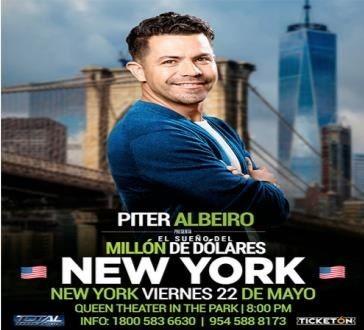 Flyer for POSTPONED: Piter Albeiro En New York,NY