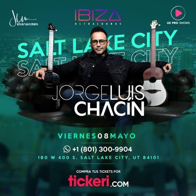 Flyer for Jorge Luis Chacin