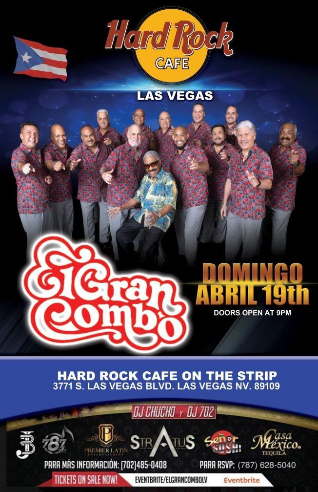 Flyer for EL GRAN COMBO