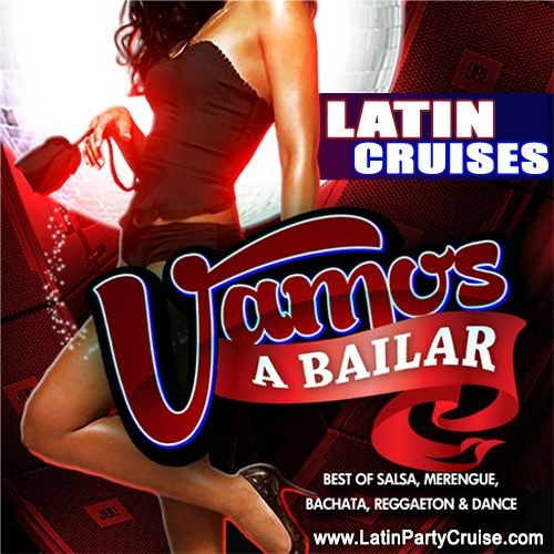 Flyer for August 8th Latin Midnight Cruise