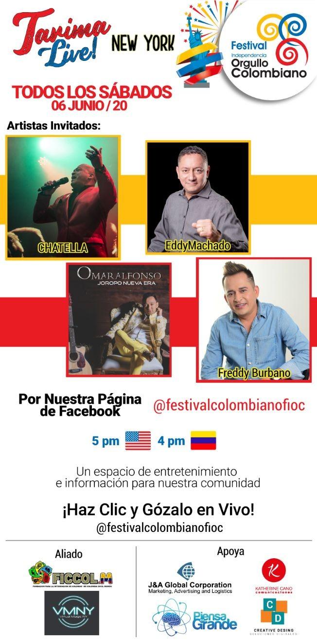 Flyer for Tarima Live: CUATRO GÉNEROS MUSICALES EN UN SOLO DÍA