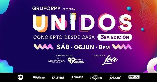 Flyer for Live at Home: Unidos con Pedro Capo, Beto Cuevas, Rio Roma, Ivy Queen y mas