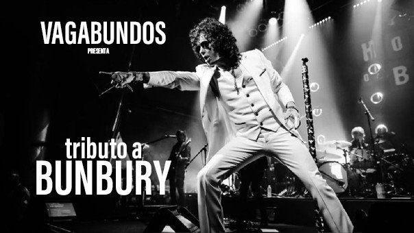 Flyer for Tributo a Bunbury