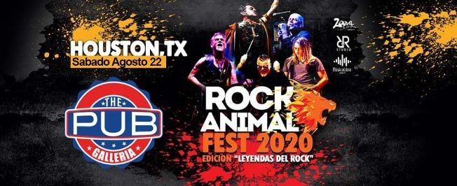 Flyer for Rock Animal Fest - Leyendas del Rock
