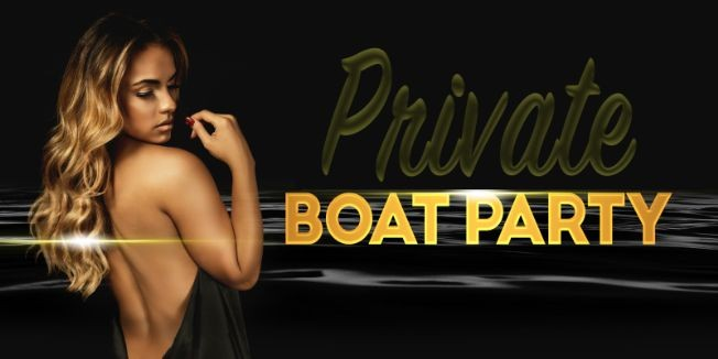 Flyer for Private Boat Cruise with Social Distancing - NYC Yacht Party