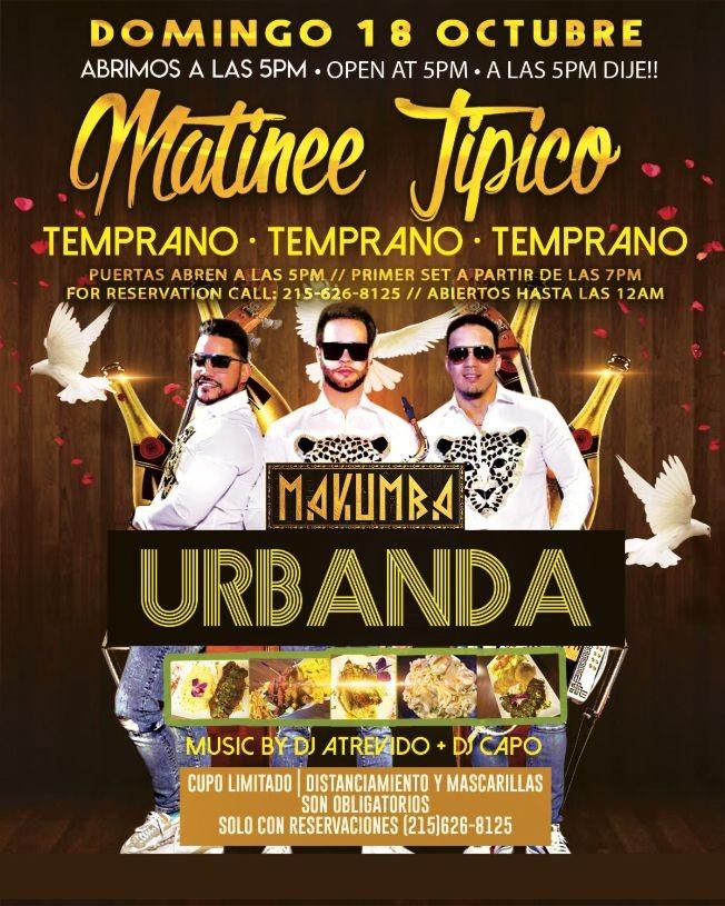 Flyer for Urbanda en Concierto