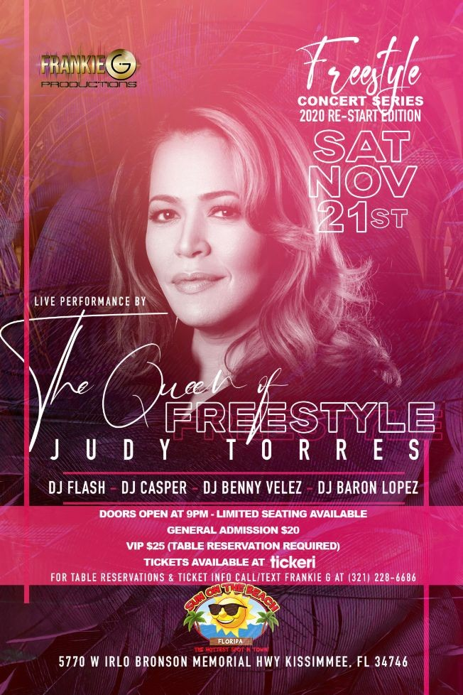 Flyer for Freestyle Concert Series - 2020 Re-Start Edition