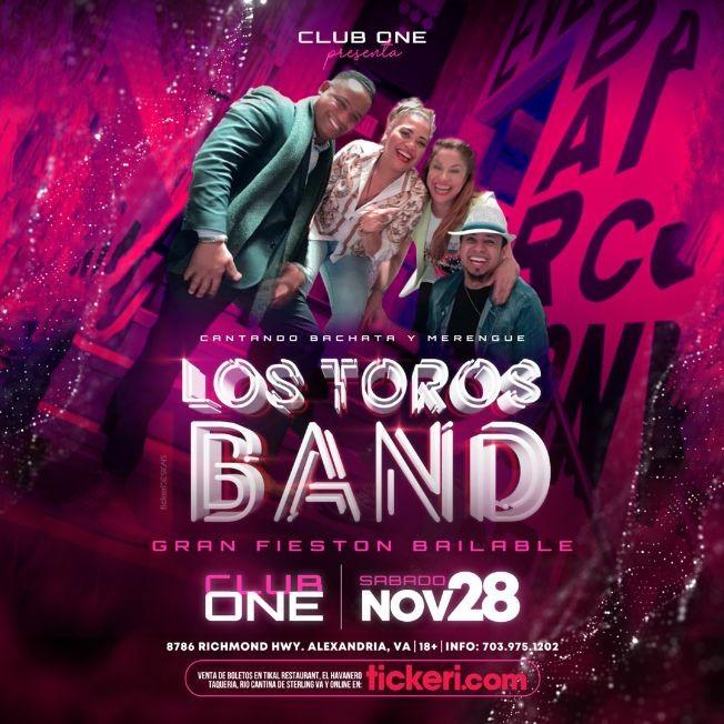 Flyer for Gran Fieston Bailable con Los Toros Band! POSTPONED