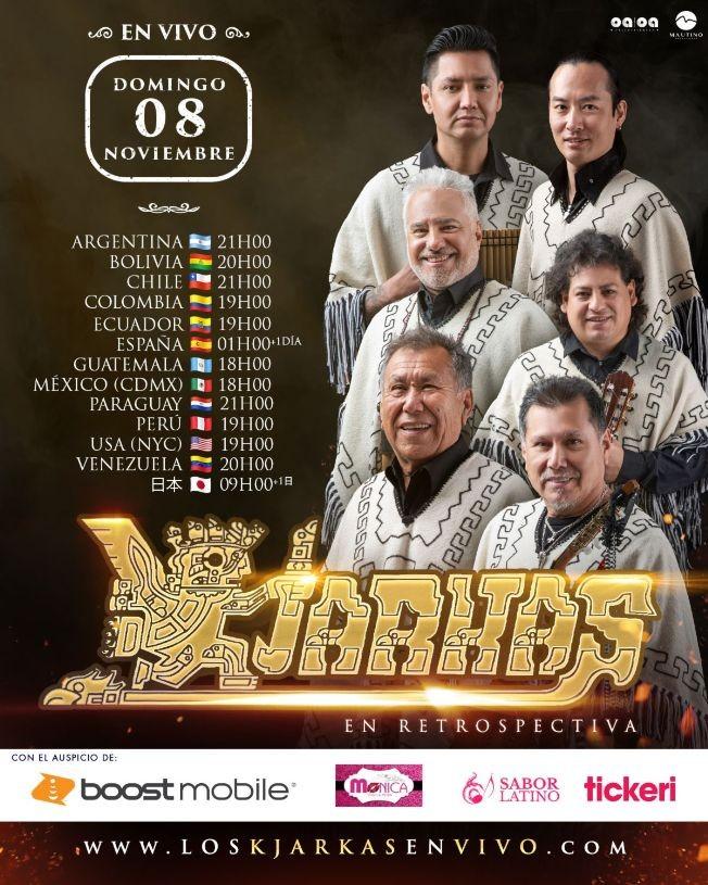 Flyer for Kjarkas Stream Mundial