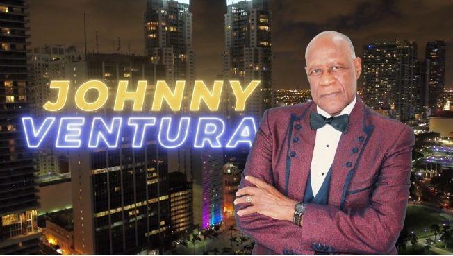 Flyer for JHONNY VENTURA PASSAIC NJ