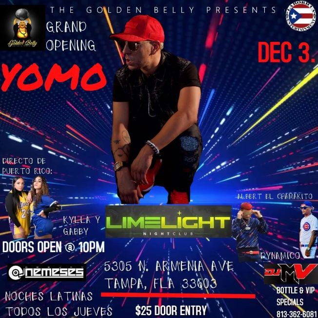 Flyer for YOMO