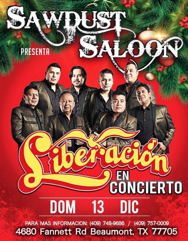 Flyer for Liberacion en Concierto!