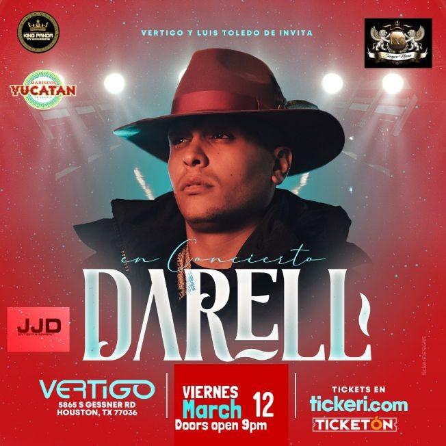 Flyer for Darell en Concierto!