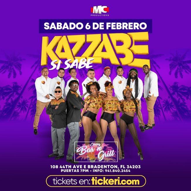 Flyer for Kazzabe En Bradenton FL