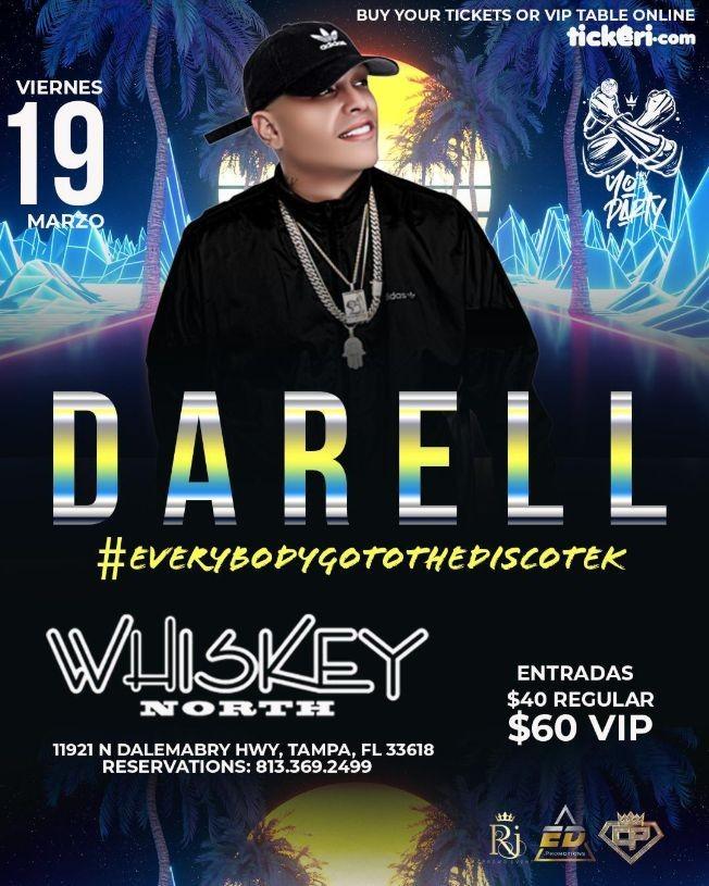 Flyer for Darell en Vivo!
