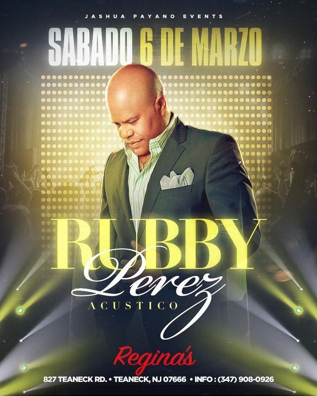 Flyer for RUBBY PEREZ EN CONCIERTO