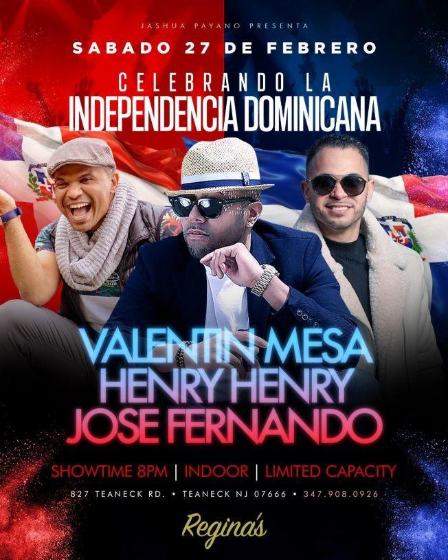 Flyer for CELEBRANDO LA INDEPENDENCIA DOMINICANA
