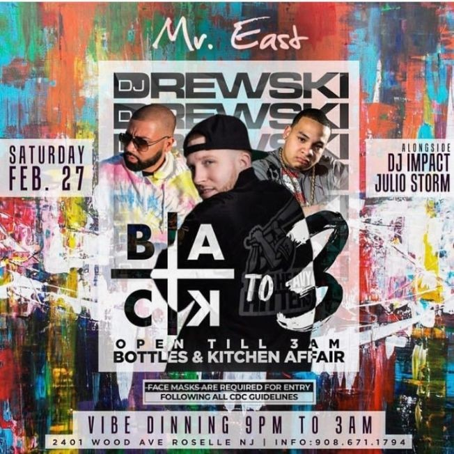 Flyer for Home By 3 Saturdays At Mister East