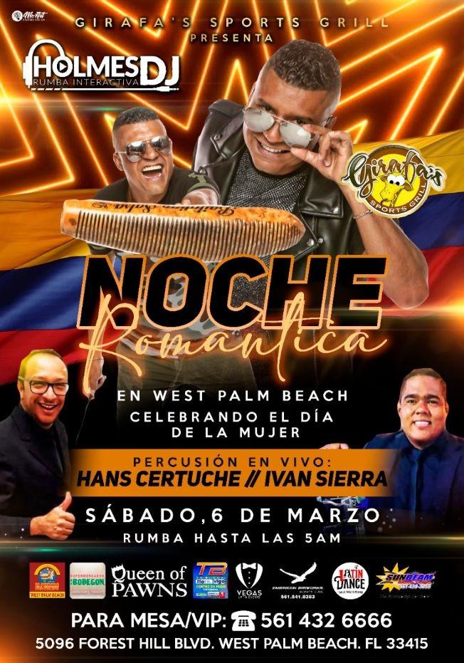 Flyer for DJ HOLMES en WEST PALM BEACH !!