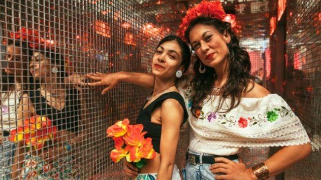 Flyer for NYC Cinco De Mayo Hip Hop vs. Reggae® Sunset Yacht Party at Skyport Marina Jewel 2021