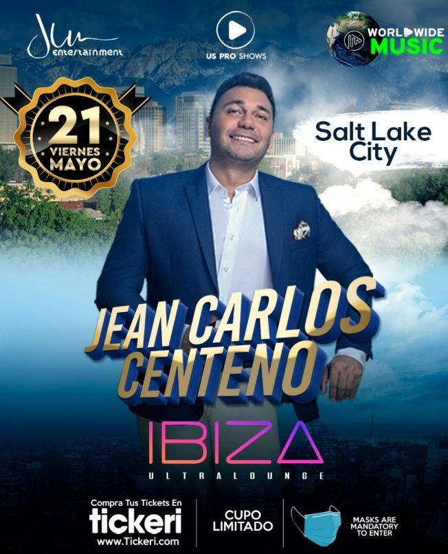 Flyer for Jean Carlos Centeno en Concierto!