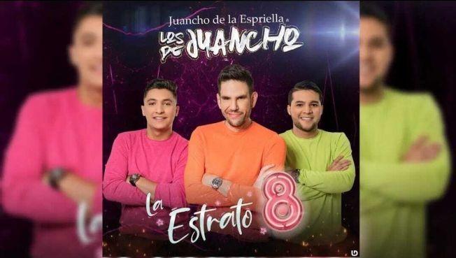 """Flyer for Juancho de la Espriella """"Los de Juancho"""" en Vivo!"""