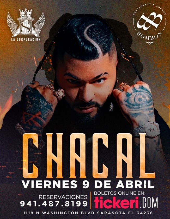 Flyer for EL CHACAL