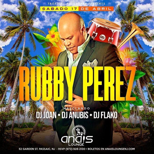 Flyer for Rubby Perez en Concierto!