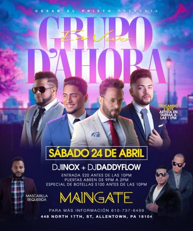 Flyer for EL GRUPO DE AHORA