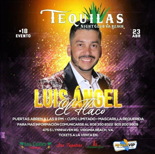 Flyer for Luis Angel El Flaco en Concierto!