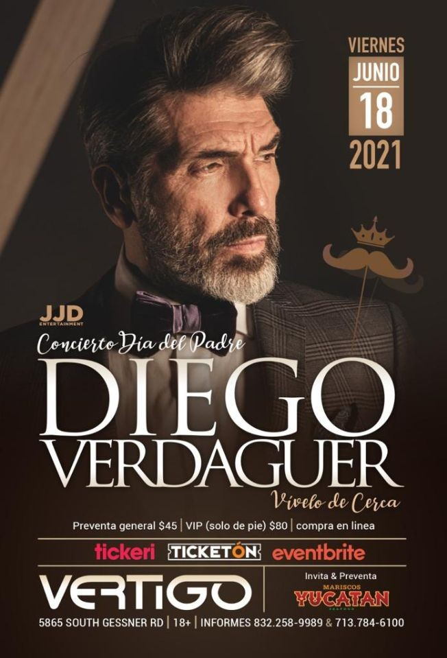 Flyer for DIEGO VERDAGUER