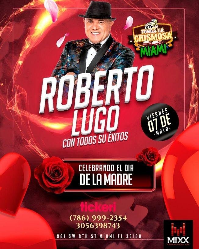 Flyer for Roberto Lugo en Concierto!