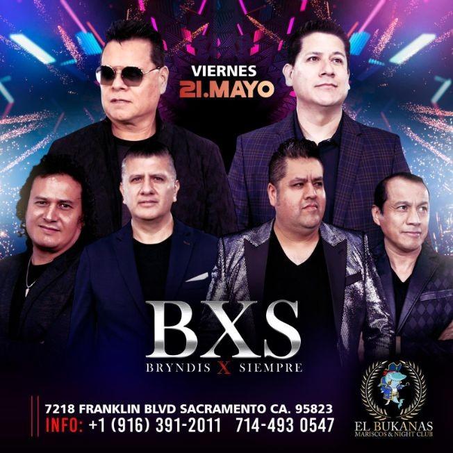 Flyer for BXS Bryndis X Siempre en Vivo!