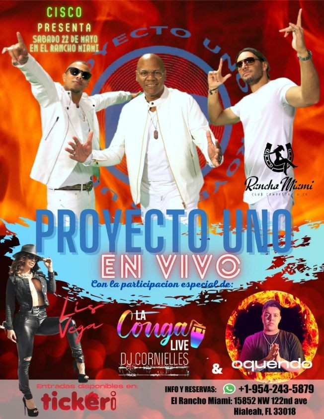 Flyer for Proyecto 1