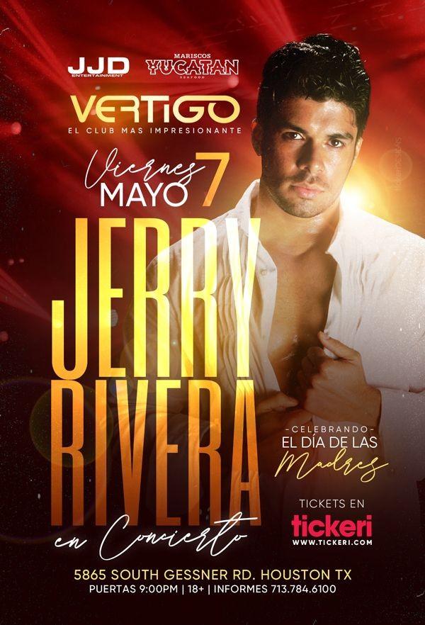 Flyer for Jerry Rivera en Concierto!