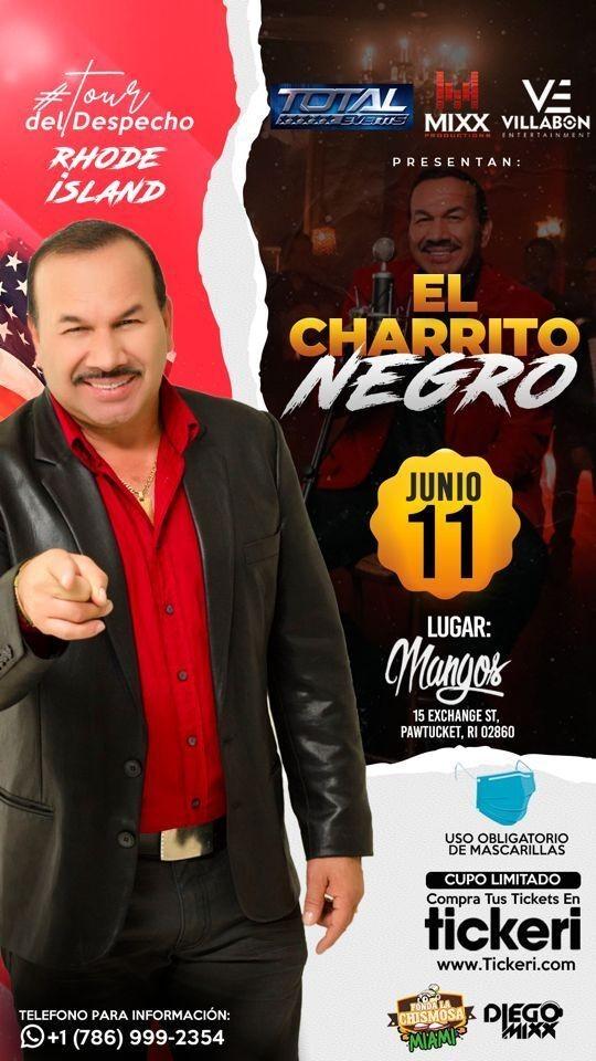 Flyer for El Charrito Negro en Concierto!