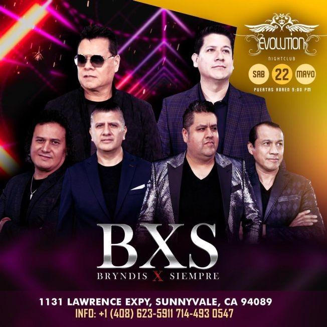 Flyer for Bryndis X Siempre 'BXS' en Concierto!