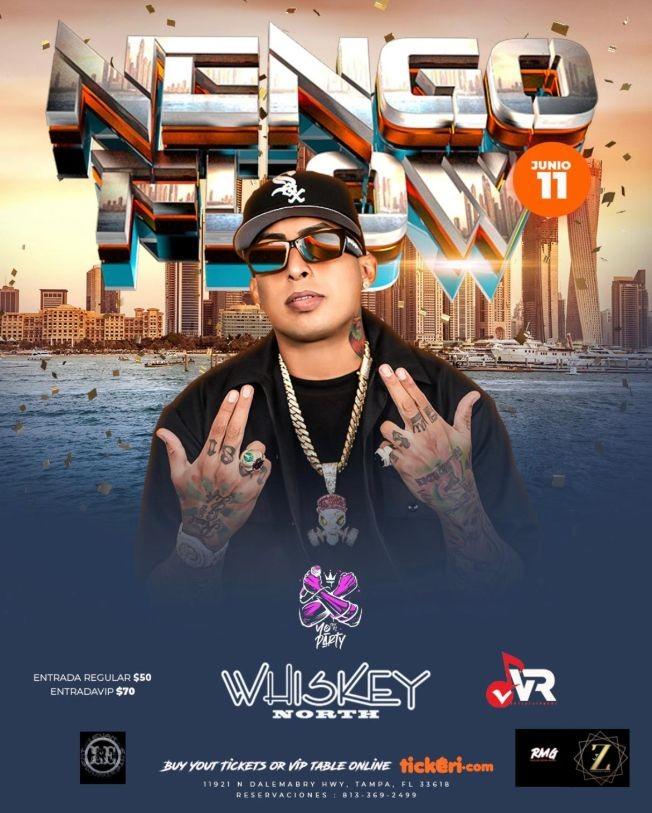 Flyer for Nengo Flow en Tampa