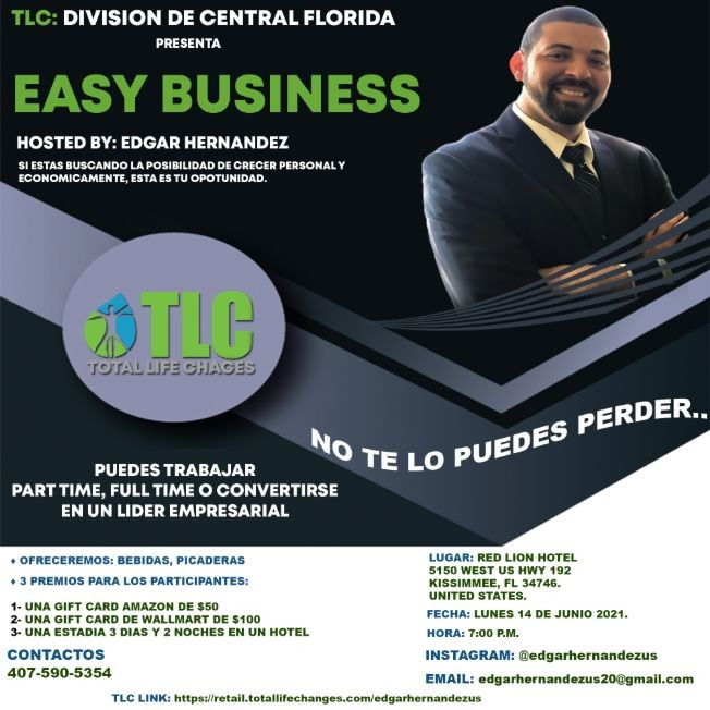 Flyer for Easy Business