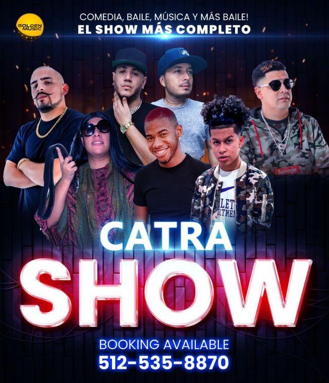 Flyer for Catra Show Dallas
