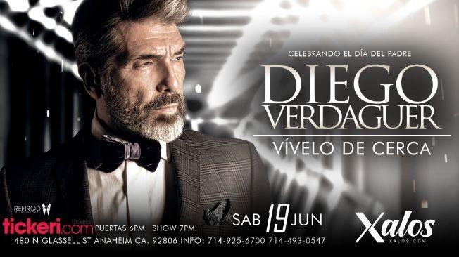 Flyer for Celebrando el Dia del Padre: Diego Verdaguer en Concierto!