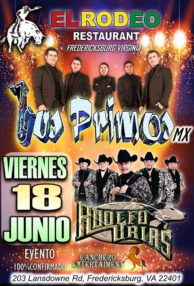 Flyer for Los Primos