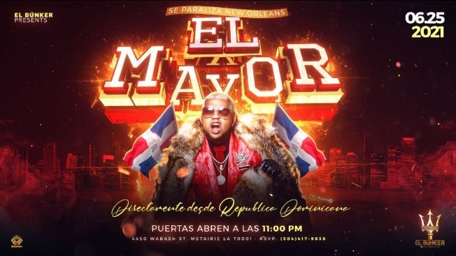 Flyer for El Mayor Clasico
