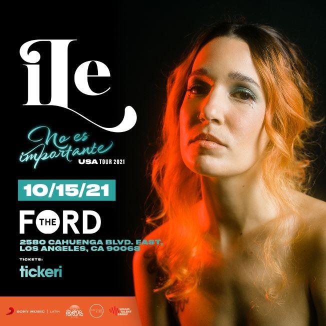 Flyer for ILE en Los Angeles
