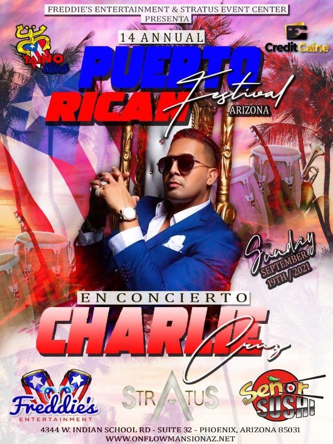 Flyer for Puerto Rican Festival 2021