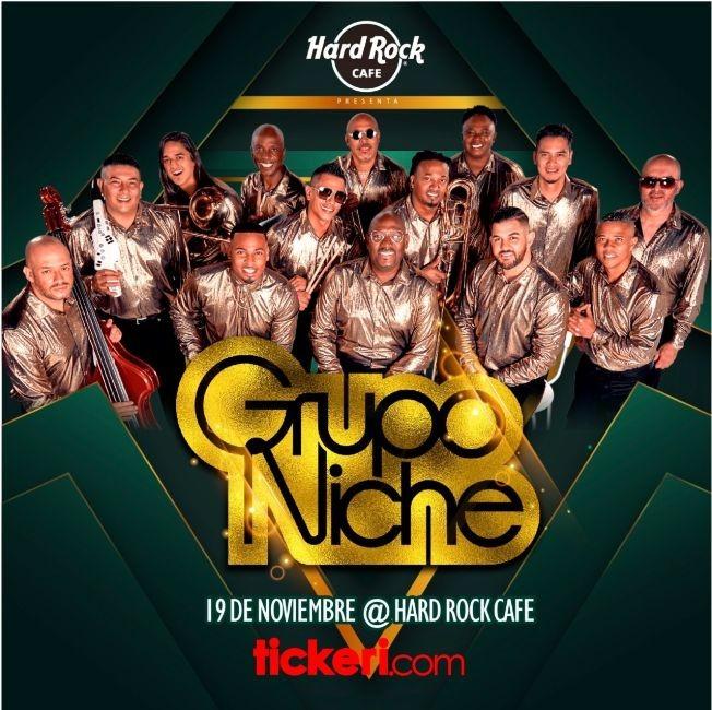 Flyer for GRUPO NICHE