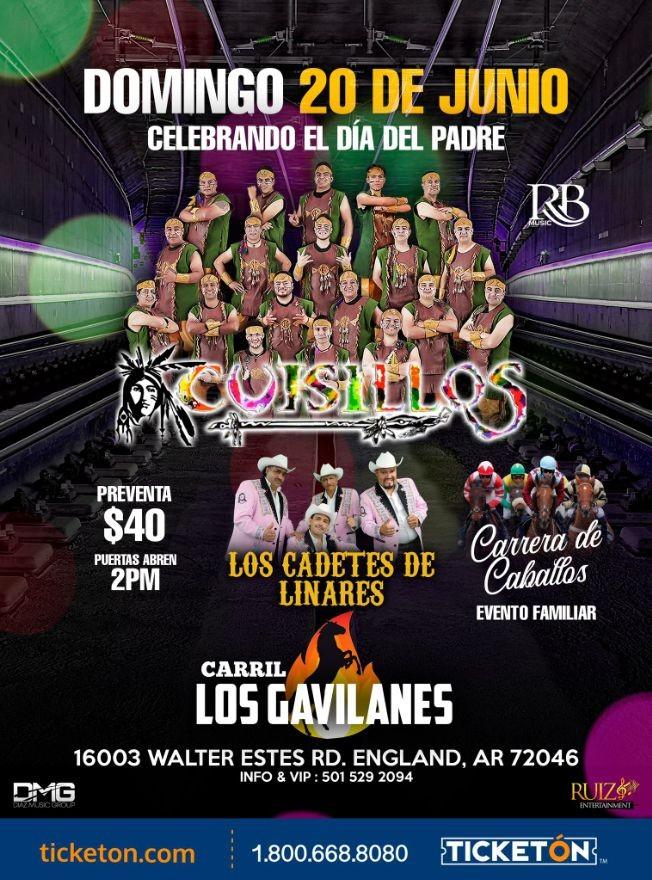 Flyer for Banda Cuisillos los Cadetes de Linares