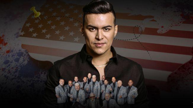 Flyer for Aventurero Tour: Yeison Jimenez & El Gran Combo de Puerto Rico en Orlando
